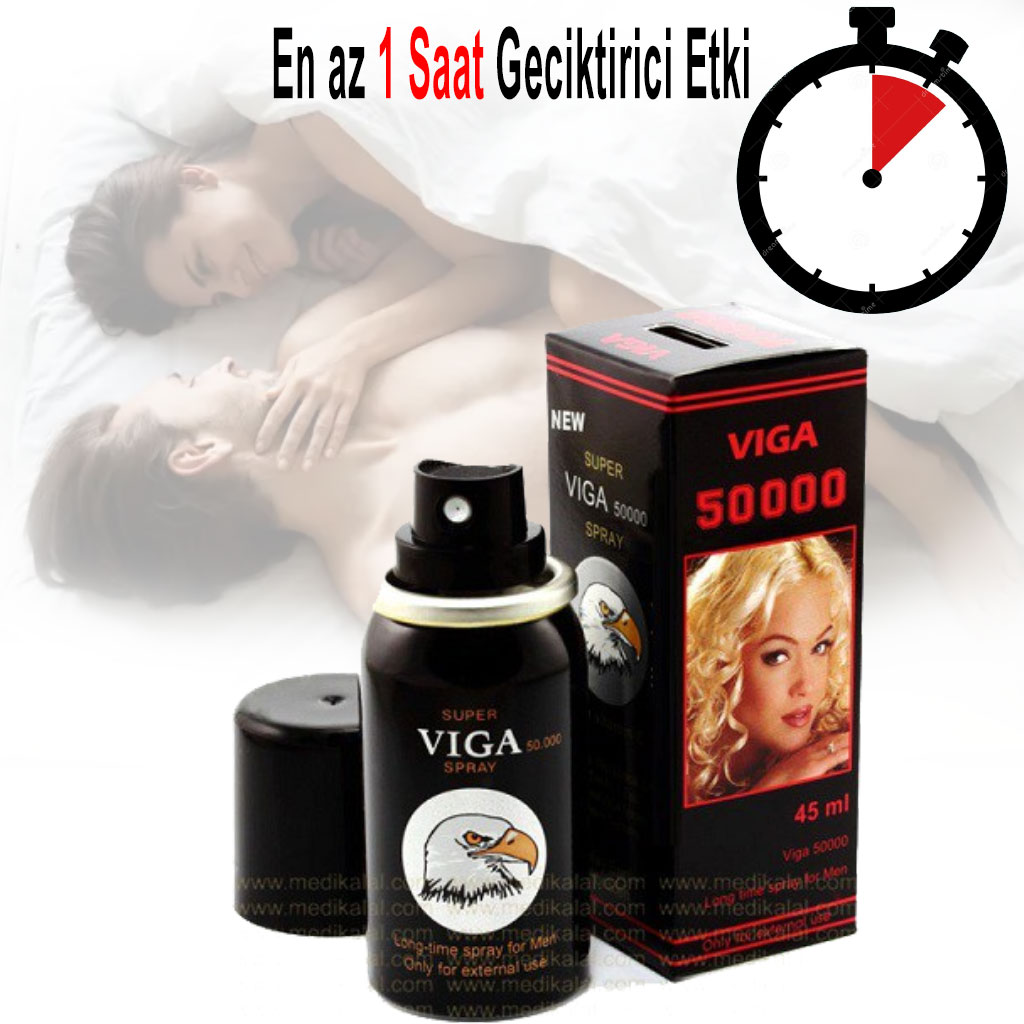 SUPER VIGA DELAY SPRAY 50000 ETKİLİ GECİKTİRİCİ SPREY